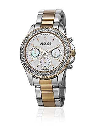 August Steiner Reloj de cuarzo Woman AS8100TTG Plateado / Dorado 38 mm
