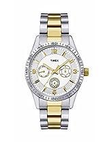Timex Analog Silver Dial Women's Watch - TI000W20300