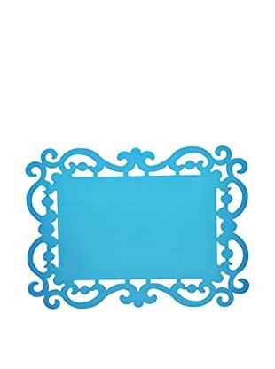 Bitossi Home Set Tisch-Untersetzer Set 12 Tovagliette Cm 44X32 Baroque blau 44 x 32 cm