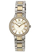 Fossil Analog Multi-Color Dial Women's Watch - ES3503