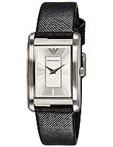 Emporio Armani Analog Silver Dial Women's Watch - AR1871