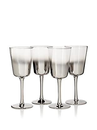 Artland Set of 4 Shadow Goblets