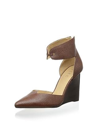 Fiel Women's Bristol Ankle Cuff Wedge Heel (Tobacco)