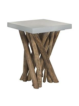Safavieh Hatrwick Side Table, Grey