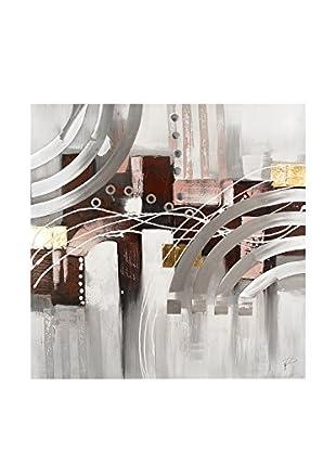 Arte dal Mondo Lienzo Paolo Rossini Composizione Geometrica