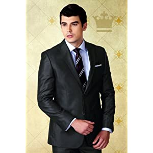 Slim Fit Single-Breasted Suit