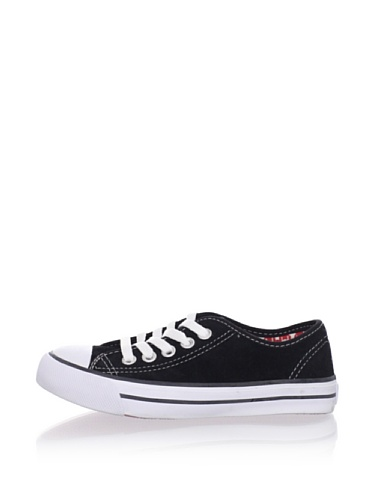 Pampili Kid's Suede Sneakers (Black)