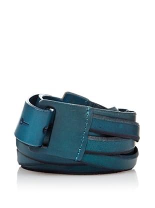 Sándalo Cinturón Tiras (Azul)