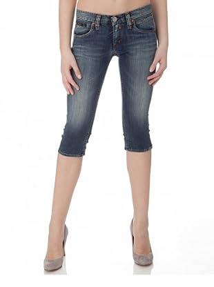 Herrlicher Short Jeans Touch (Mittelblau)
