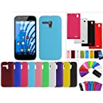 MJR Back Cover + Screen Guard Combo For Micromax A69