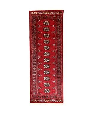 L'Eden del Tappeto Teppich Kashmirian rot 215t x t77 cm