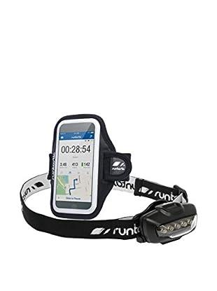 Runtastic Set Running Sporthalterung Handy + Stirnlampe