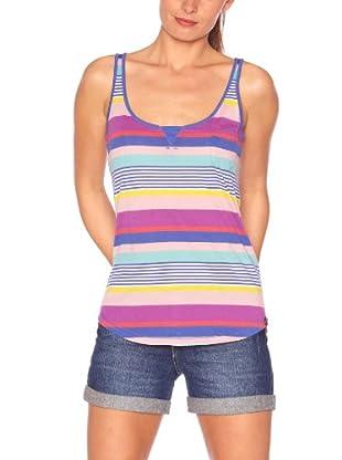 Roxy Camiseta Romance (Morado / Azul / Amarillo)