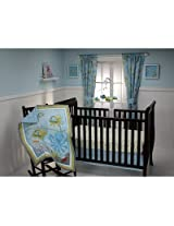 Nojo Little Bedding Ocean Dreams 3 Piece Crib Bedding Set (White)