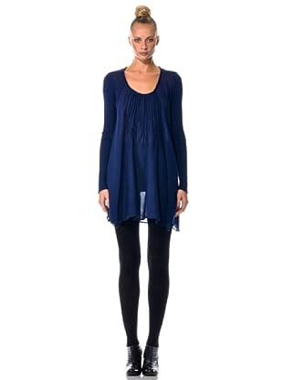 Eccentrica Vestido Plisados (Azul)