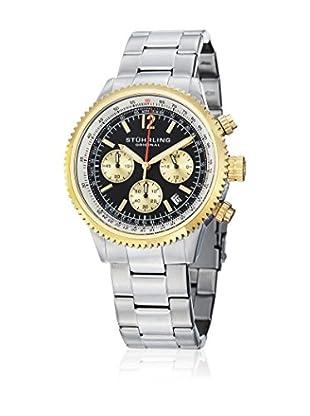 Stuhrling Uhr mit japanischem Uhrwerk Man Monaco 669B  42 mm