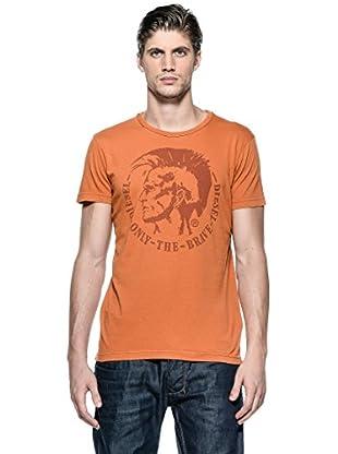 Diesel Camiseta T-Achel-Rs (Naranja)