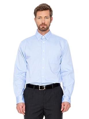 Cortefiel Unifarbenes Hemd (Hellblau)