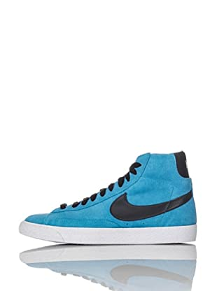 Nike Zapatillas Blazer Mid Vintage (Gs) (Azul Grisáceo/Antracita)