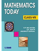 Mathematics Today for Class 7 (ICSE)