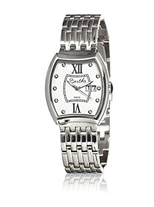 Bertha Uhr mit Schweizer Quarzuhrwerk Charlotte silberfarben 37 mm