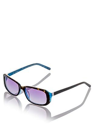 Ck Platinum Sonnenbrille CK4148S schwarz/blau
