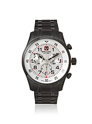 Swiss Military Calibre Men's 06-5C4W Chronograph Black/White Stainless Steel Watch