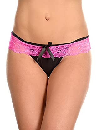 JUST FOR VICTORIA String Tanga Ambre