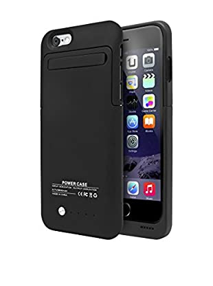 UNOTEC Funda Con Batería iPhone 6 / 6S Powercase Negro