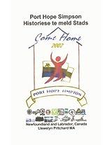 Port Hope Simpson Historiese te meld Stads (Port Hope Simpson Mysteries)