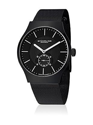 Stührling Uhr mit Schweizer Quarzuhrwerk Albion schwarz 40 mm