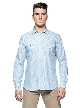 Rodrigo Camisa  Lawrence (Azul Celeste / Azul)