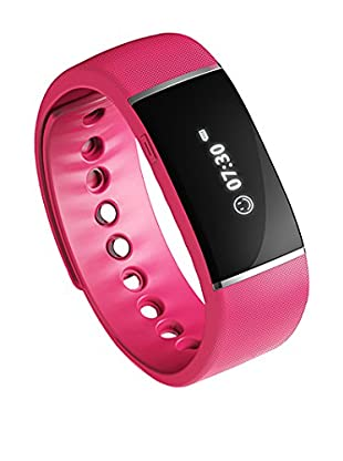 Bluetooth Smartwatch Bracelet, Pink