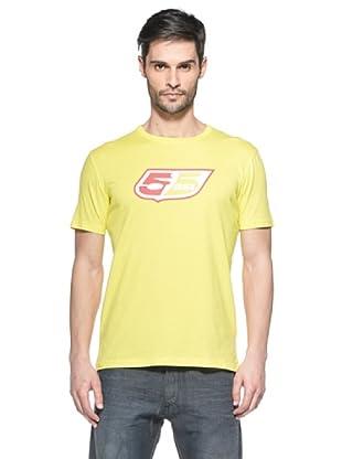 55Dsl Camiseta Logoclassic (Amarillo)