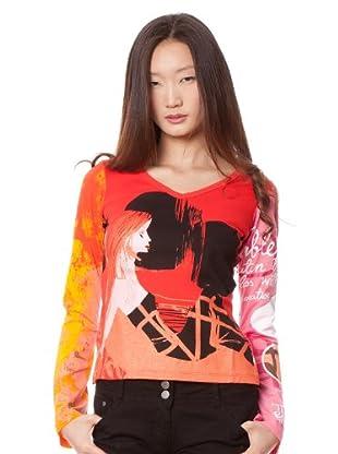 Custo Camiseta Nun Ye (Multicolor)