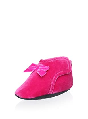 Cienta Kid's Front Bow Slipper (Fuchsia)