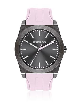 K&BROS Reloj 9560 (Gris Rosa)