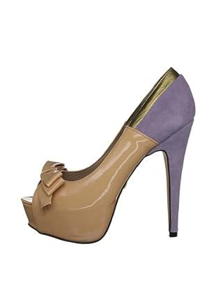 Ravel Zapatos Lisa (Nude / Lila)
