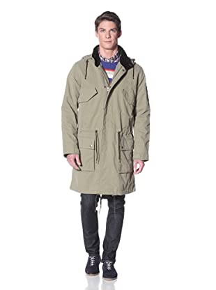 GANT by Michael Bastian Men's The Mb Green Parka (Beverly Farms)