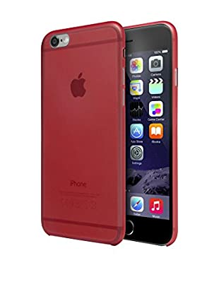 Unotec Hülle TPU Super-Slim iPhone 6 / 6S rot