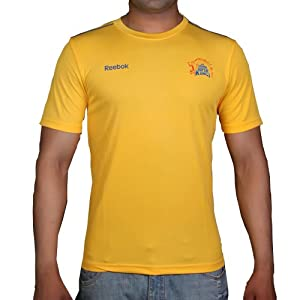 Chennai Super Kings - Fangear T-Shirt by Reebok - Size : S