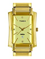 Timex Analog Gold Dial Women's Watch - ET10