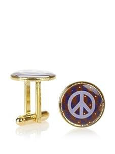 Mercedes Salazar Peace Cufflinks