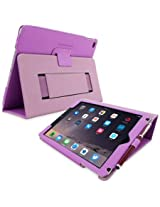 iPad Pro 9.7 Case, Snugg™ - Smart Cover with Flip Stand & Lifetime Guarantee (Purple) for Apple iPad Pro 9.7 (2016)