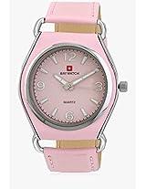 03050A Pink/Pink Analog Watch Baywatch