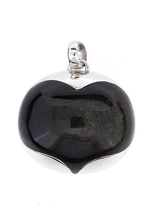 Luxenter Colgante Chupi Obsidiana Dorada