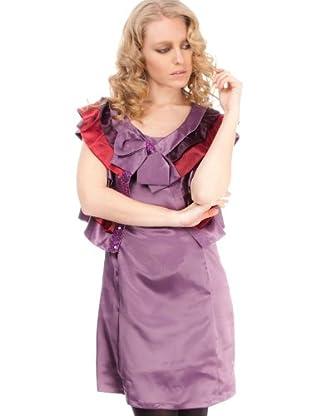 Strena Bolero y Vestido (Malva / Granate)