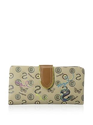Desigual Women's Woven Medium Wallet, Multi