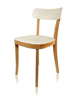 The Geneva Chair, Natural/Ivory