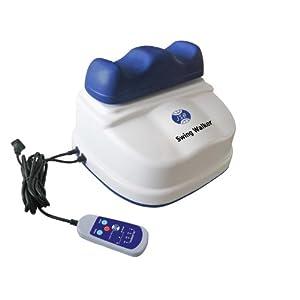 JSB HF01 Swing Massager (White-Blue)